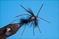 14122 Мушка нимфа D/Bug Flashback Midnight Fire Black Leg