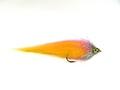 17002 Мушка щучий стример RM Pike Snap Heads Fly Pink Yellow