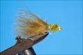14130 Мушка нимфа Gold Bead Fritz Damsel Olive