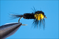 14136 ����� ����� Montana Nymph-Black Yellow