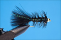 15043 Мушка стример Bead Head Electric Leech Black