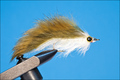 15050 Мушка стример Cone Head John Rohmer`s Streamer Olive White