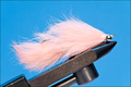 15058 Мушка стример Articulated Bunny Leech Flash Salmon Pink