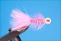 16034 Лососевая мушка BBE EGG Sucking Leech Fluorescent Pink
