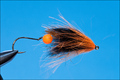 16035 Лососевая мушка BT Swinger Black Orange