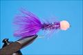 16038 Лососевая мушка Egg Sucking Leech Winter Run Purple