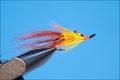 16063 Лососевая мушка Tail Fire Shrimp JC Double