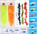 54042 Даббинговая нить RM Long Hair Brush Clear 4 inch